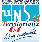 Logo UNSA Territoriaux k