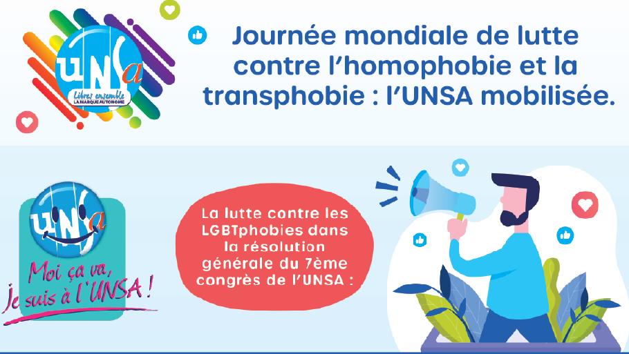Marche des Fiertés – L'UNSA présent à Biarritz le samedi 22 juin.